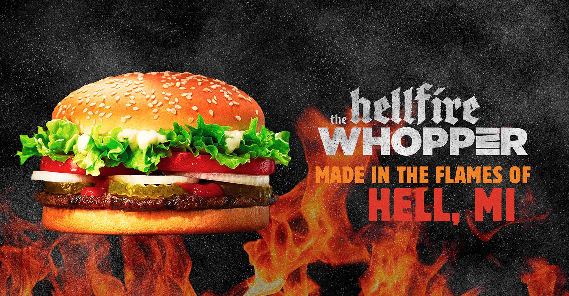 Burger King - Hellfire Whopper