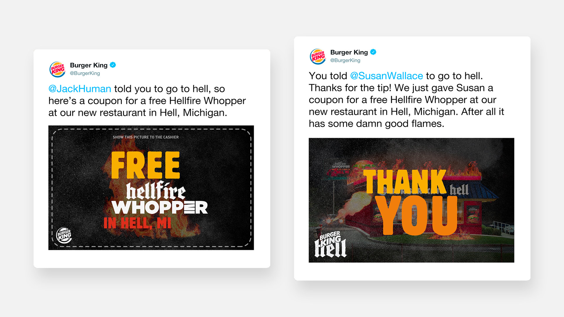 Burger King Tweets