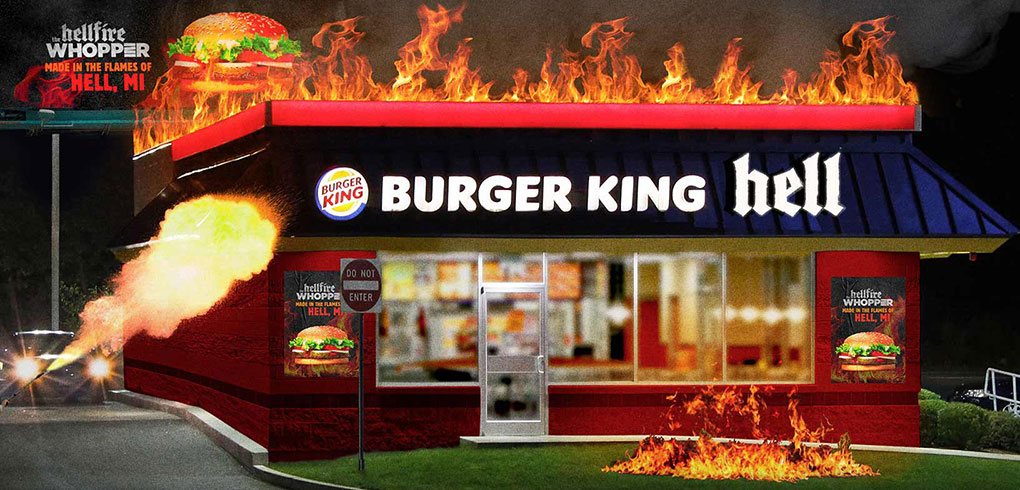 Burger King Hell Restaurant